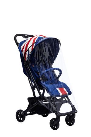 Wózek spacerowy lekki 6 kg z osłonką przeciwdeszczową Union Jack Classic, MINI by Easywalker Buggy XS