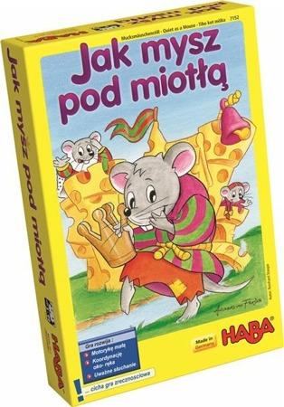 Gra zręcznościowa Jak mysz pod miotłą, Haba (wersja polska)