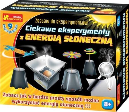 Ciekawe eksperymenty z energią słoneczną - doświadczenia dla dzieci, 8 lat +, RANOK-CREATIVE