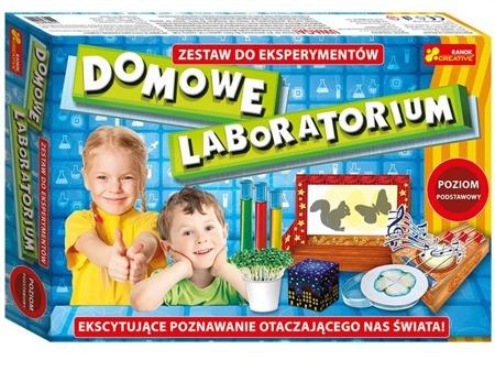 Domowe laboratorium. Poziom podstawowy - doświadczenia chemiczne dla dzieci ZESTAW, Ranok-Creative