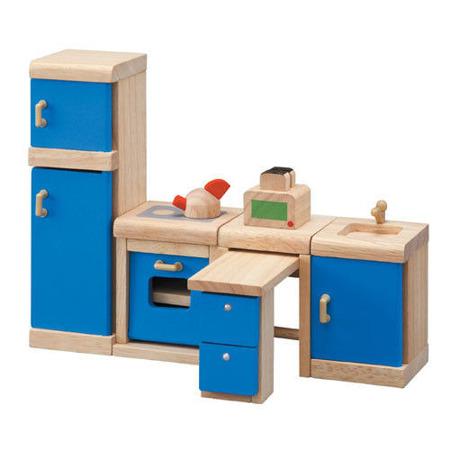 Drewniane mebelki dla lalek Kuchnia Neo - mebelki do domku dla lalek, Plan Toys