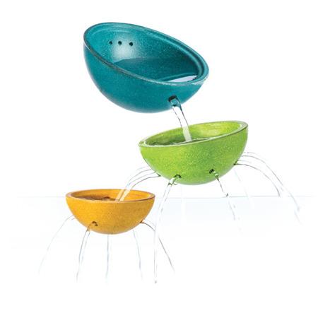 Drewniane miseczki do przelewania wody - naczynia do przelewania dla dzieci, Plan Toys