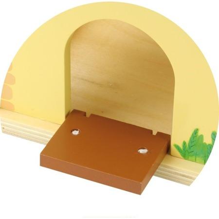 Drewniany sorter kształtów - FARMA z drewna wraz ze zwierzętami, 18m+, VILAC
