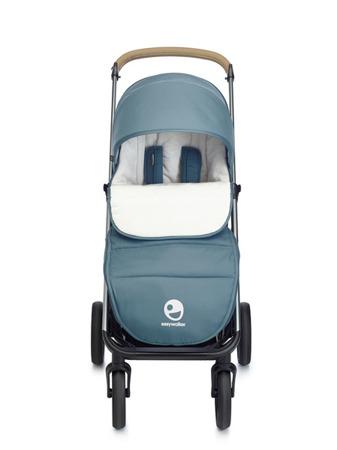 Easywalker Mosey+ Śpiworek do wózka na zimę uniwersalny Steel Blue