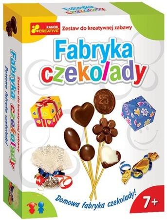 Fabryka czekolady - wytwórnia czekolady dla dzieci, wiek 7 lat +, RANOK-CREATIVE