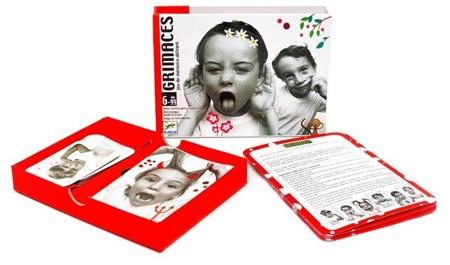 GRYMASY gra karciana dla dzieci - gra rozwijająca zdolności aktorskie 6 lat +, DJECO DJ05169