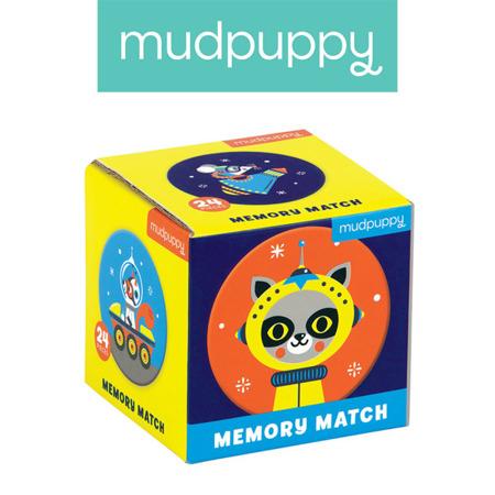 Gra Mini Memory Kosmos 3+, Mudpuppy