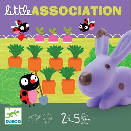"""Gra karciano planszowa """"3 światy""""  ze zwierzątkami - dla dzieci 2 lata +, DJECO DJ08553"""