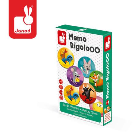 Gra memory Zwierzęta Rigolooo, Janod