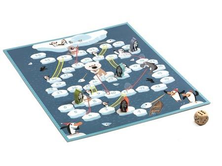 Gra planszowa węże i drabiny - gra dla dzieci 5 lat +, DJECO DJ05208