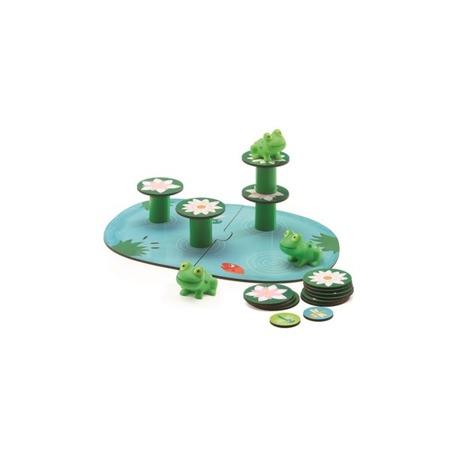 Gra zręcznościowa balansujące żabki,2 lata +, DJECO DJ08554