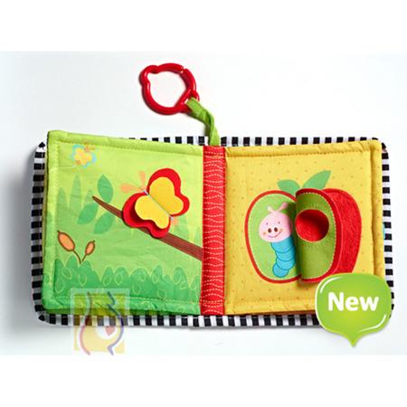 """Książeczka edukacyjna dla niemowlaka - książeczka dla bobasa """"Gdzie mieszkam"""", Tiny Love"""