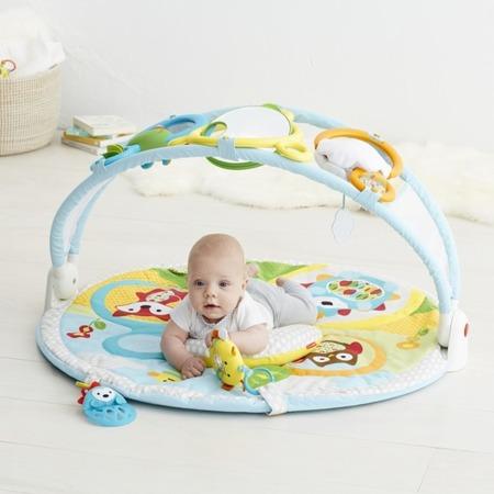 Mata edukacyjna Explore & More - mata dla niemowląt, 20 wariantów zabawy, SKIP HOP