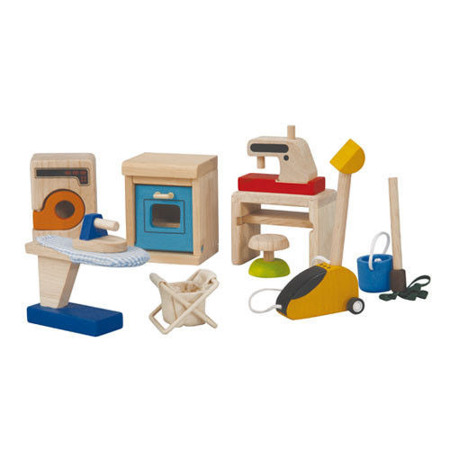Mebelki dla lalek Sprzęty domowe dla lalek, Plan Toys PLTO-9710