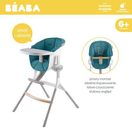 Miękki wkład do Krzesełka do karmienia niemowląt i małych dzieci Up&Down blue, Beaba