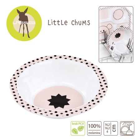 Miseczka do jedzenia dla dzieci z melaminy Little Chums Mysz, Lassig