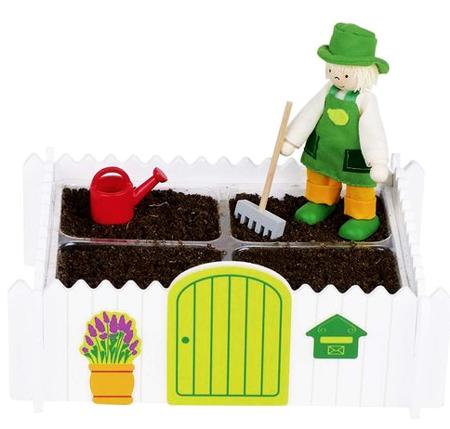 Mój własny ogród z akcesoriami - mały ogródek dla dzieci