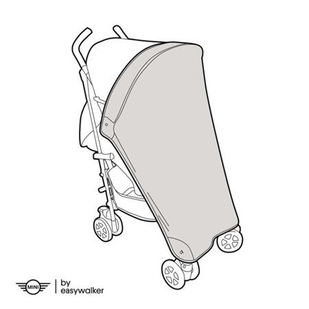 Moskitiera do wózka spacerowego / spacerówki, MINI by Easywalker
