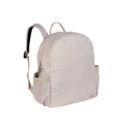 Plecak do wózka dla mamy z akcesoriami Backpack Mesh beige, Lassig Marv