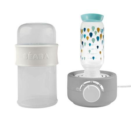 Podgrzewacz i sterylizator parowy do butelek i słoiczków Babymilk Second grey, BEABA