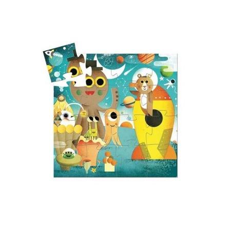 Puzzle RAKIETA 16 el., 3 lata +, DJECO DJ07265