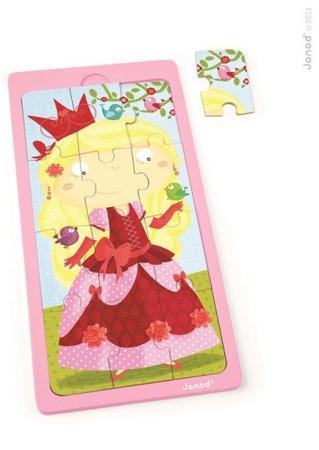 Puzzle drewniane Księżniczka Jessica, Janod