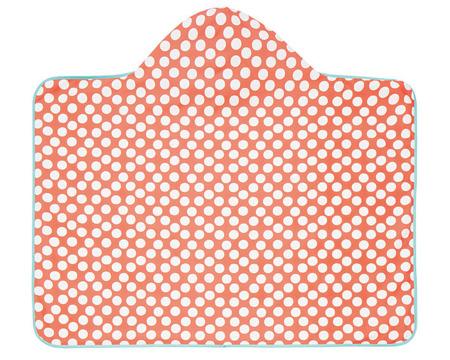Ręcznik kąpielowy z kapturem Jolly dots - okrycie kąpielowe dla małych dzieci, Lassig