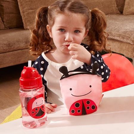 Saszetki na przekąski dla dzieci - zestaw dwóch saszetek z wodoodpornej tkaniny, Biedronka, SKIP HOP