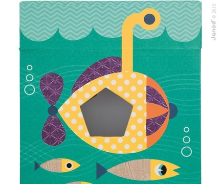 Sensoryczny sorter kształtów Ocean, Janod