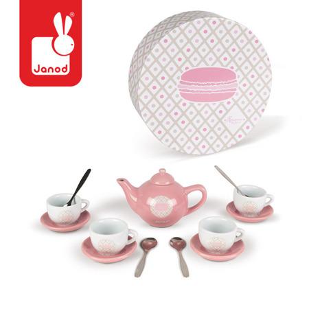 Serwis do herbaty 14 elementów Macaron, JANOD
