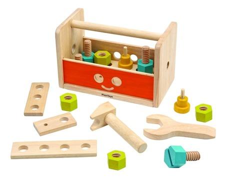 Skrzynka z narzędziami - skrzynka majsterkowicza, warsztat Plan Toys