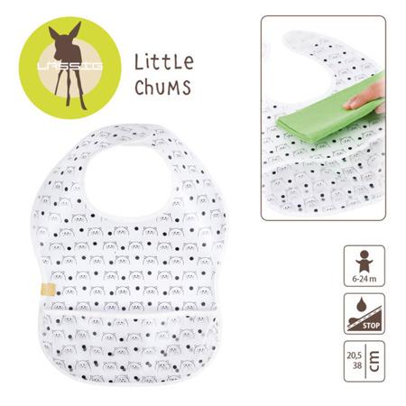 Śliniak wodoodporny dla dzieci 6m+ Little Chums Kot, Lassig