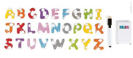 Tablica wisząca 3w1 - tablica magnetyczna, kredowa i zmywalna, Janod