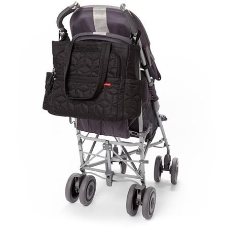Torba do wózka Torba Forma Black - pojemna i stylowa torba dla mamy na akcesoria niemowlęce, SKIP HOP