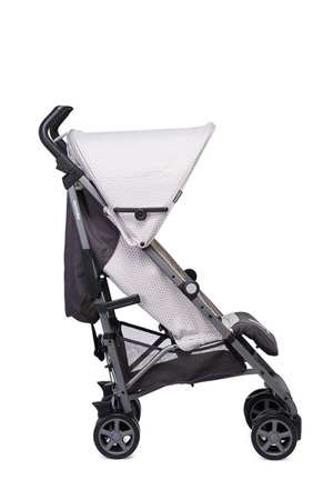 Wózek spacerowy dla dzieci z osłonką przeciwdeszczową Silver Circle kolekcja 2018, Easywalker Buggy+