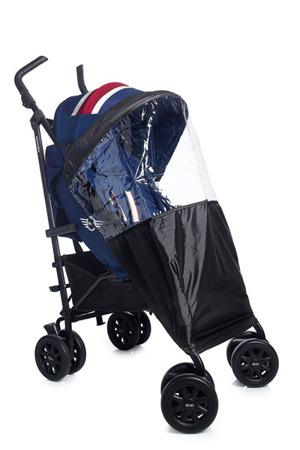 Wózek spacerowy / spacerówka z osłonką przeciwdeszczową  XL Midnight Jack, MINI by Easywalker