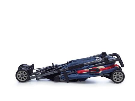 Wózek spacerowy / spacerówka z osłonką przeciwdeszczową  XL Union Jack Classic, MINI by Easywalker
