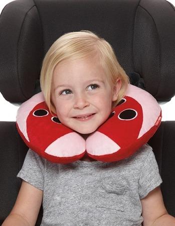 Zagłówek dziecięcy - rogal do samochodu dla dzieci, poduszka Biedronka, SKIP HOP