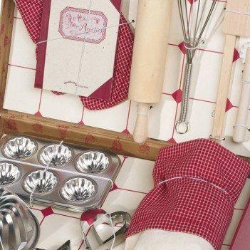 Zestaw w walizce dla młodego kucharza, Moulin Roty