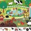 Puzzle FARMA 35 el. - zwierzątka wiejskie, DJECO DJ07591